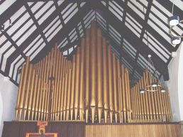 Organ pipes - click to enlarge