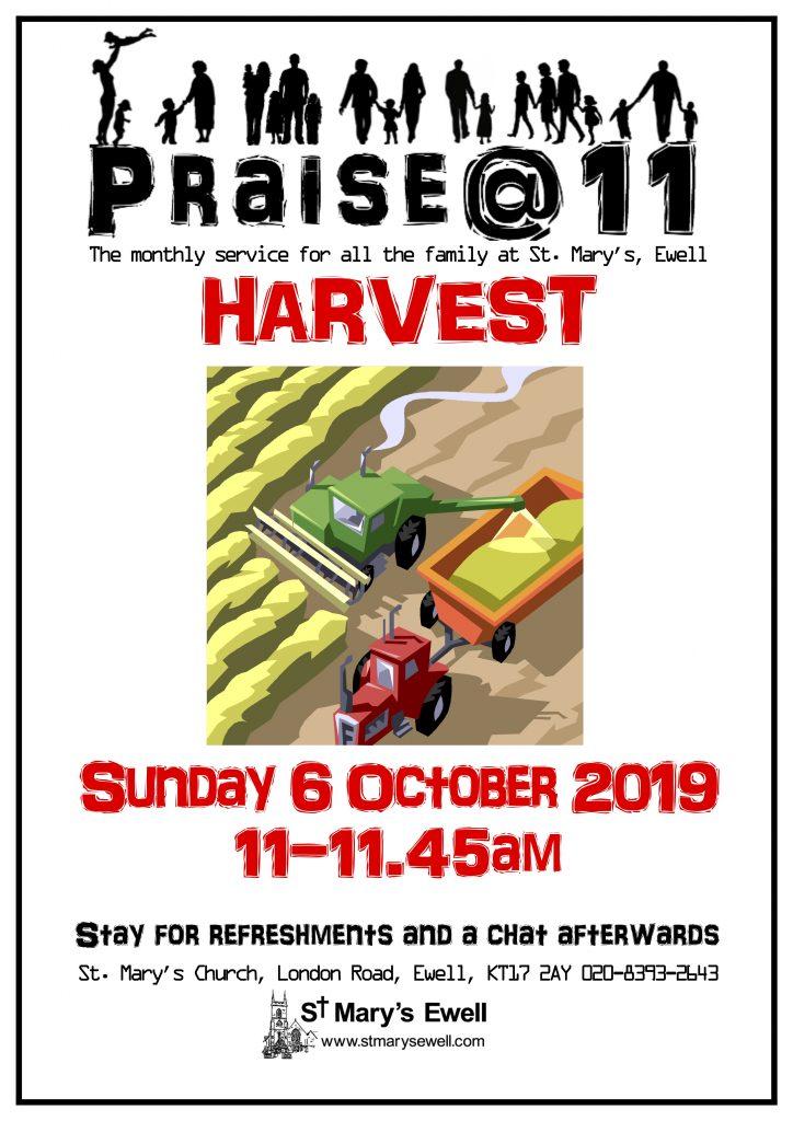 Praise@11 Harvest Thanksgiving