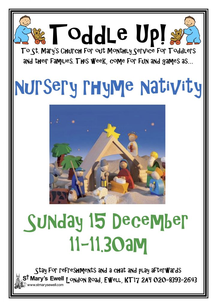 Toddle Up! Nursery Rhyme Nativity