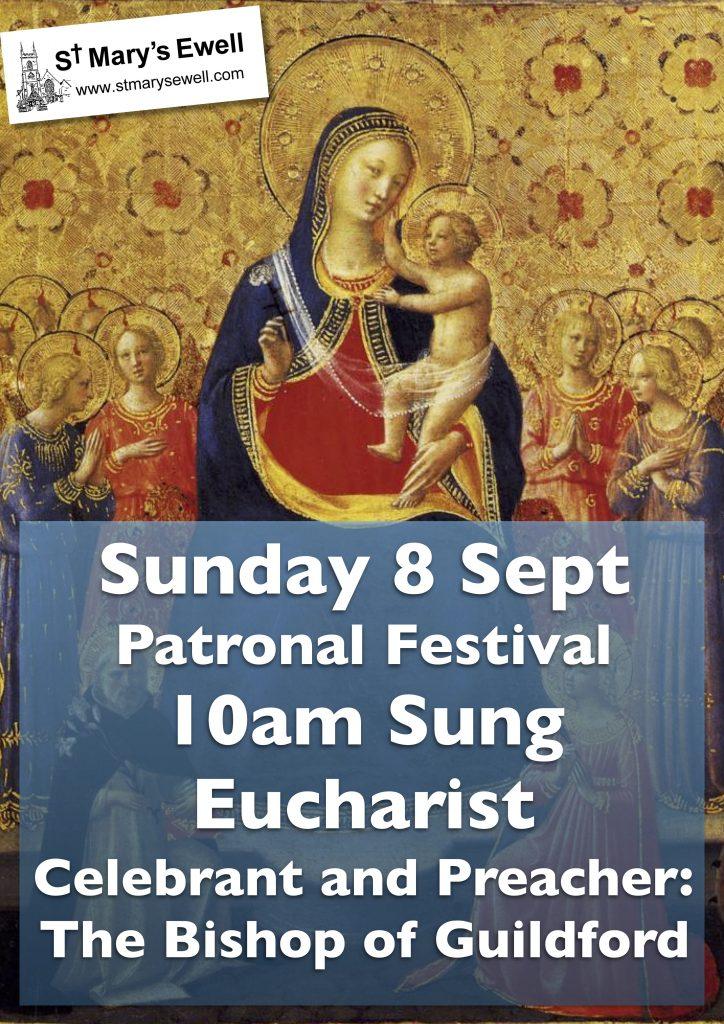Patronal Festival Sung Eucharist