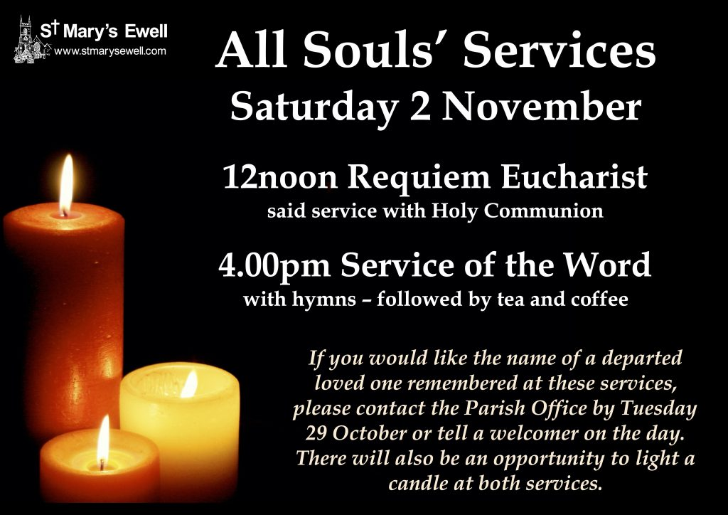 All Souls' day services