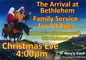 Arrival at Bethlehem Crib Service