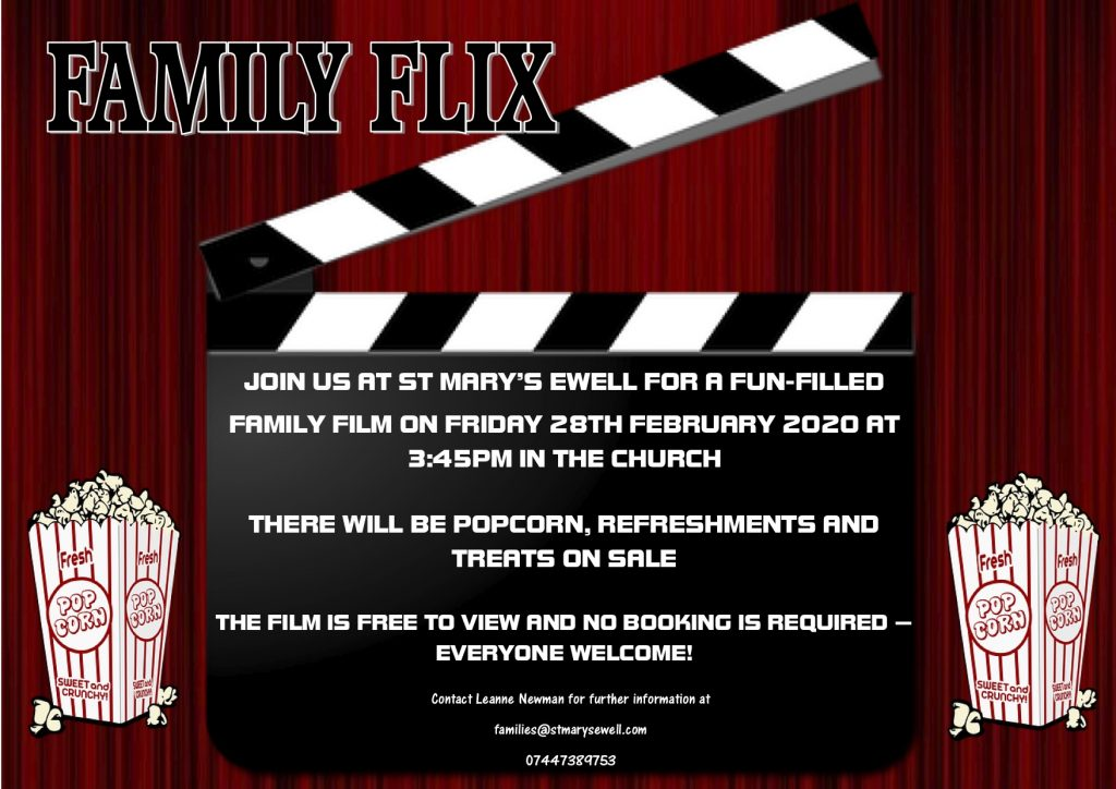 Family Flix @ St Mary's