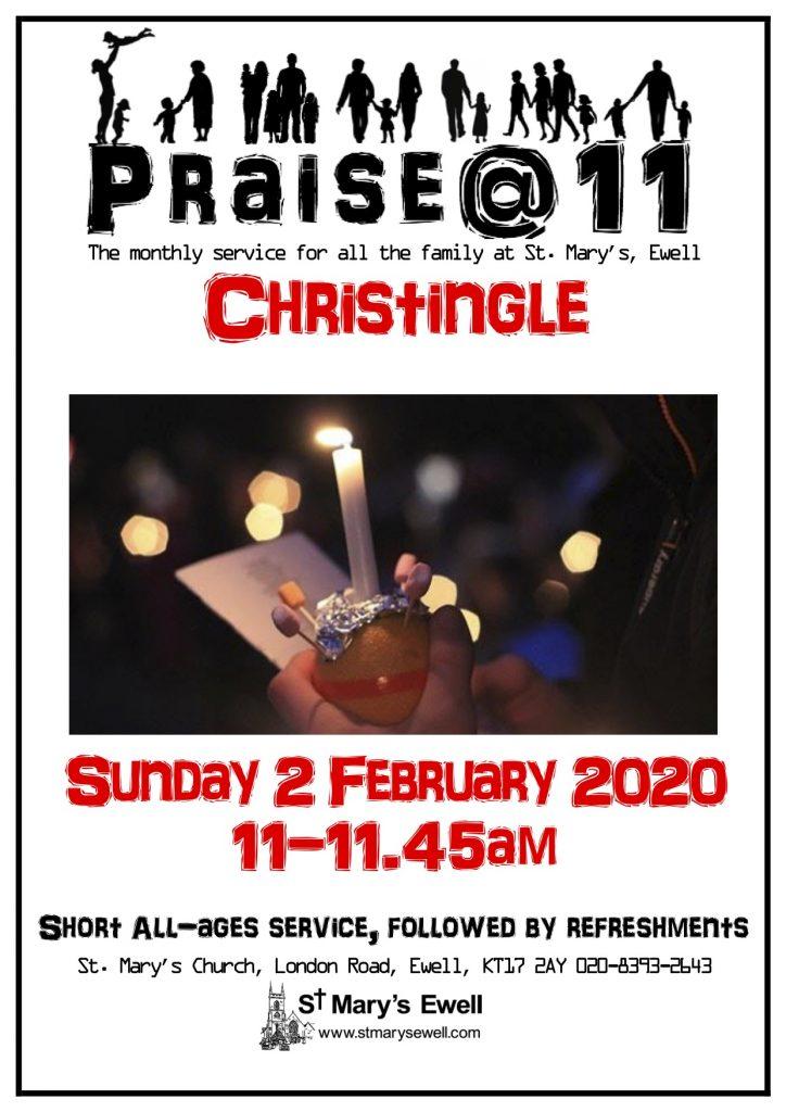 Praise @ 11 - Christingle