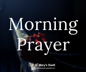 Morning Prayer (on Facebook)